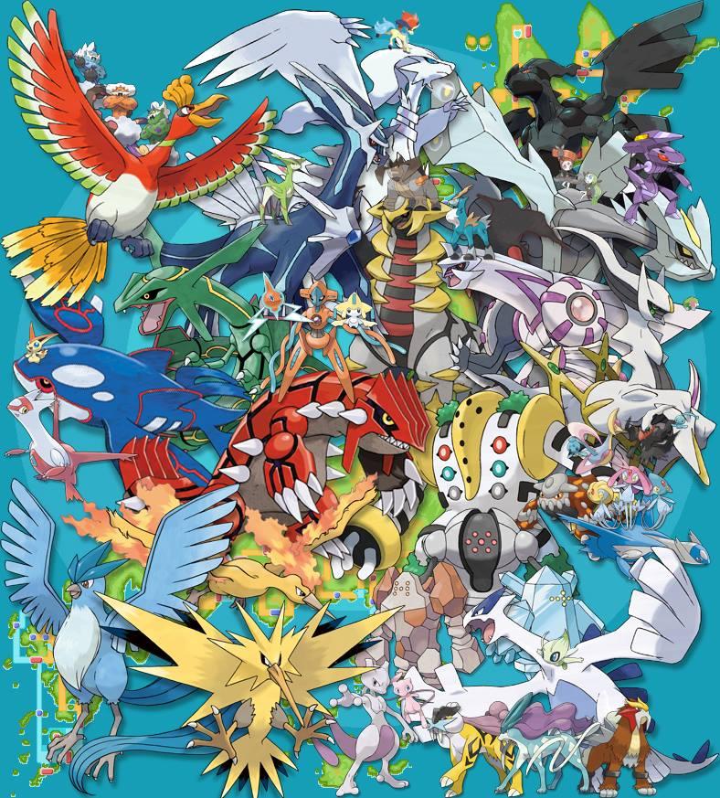 Legendary Pokemon image legendary pokemon 36723234 788 873jpg 788x873