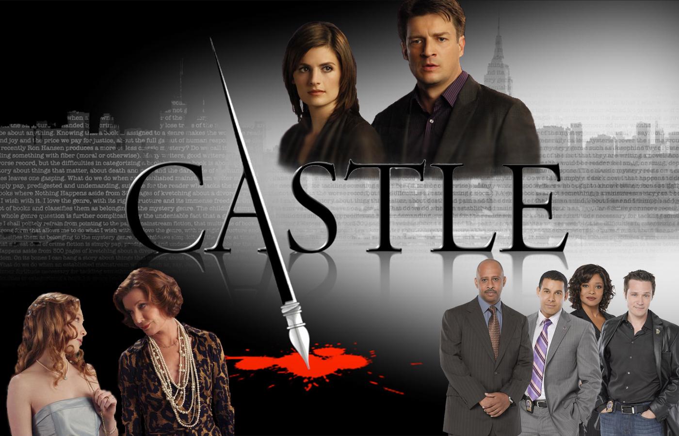Watch Castle Season 1 Episode 1 Flowers For Your Grave