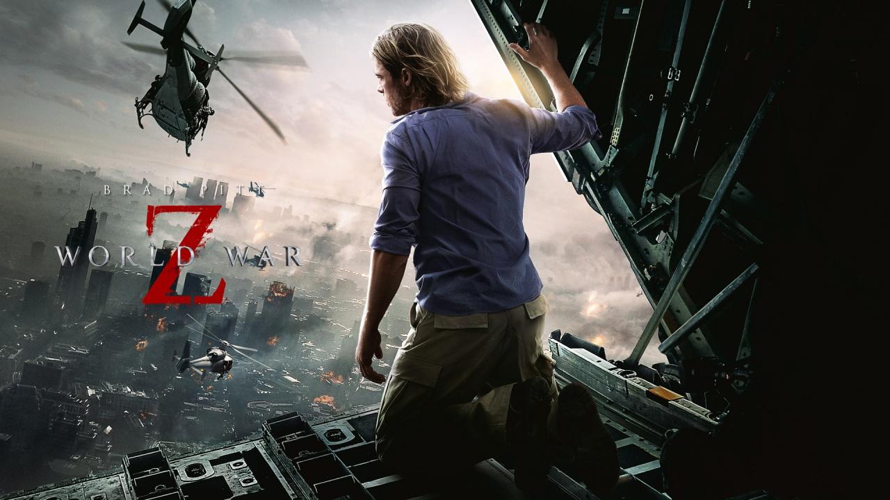 Brad Pitt World War Z Movie Wallpapers HD Wallpapers 1280x720