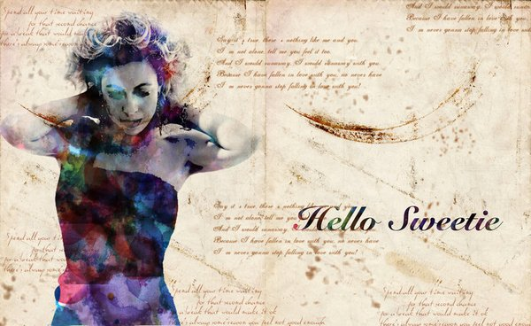 River Song Hello Sweetie Wallpaper Well hello there sweetie art 600x368