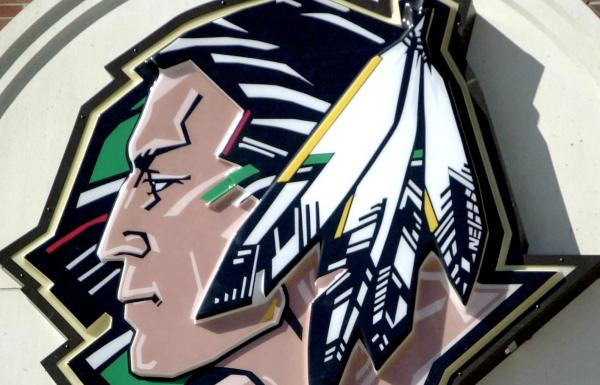 Over the University of North Dakotas Fighting Sioux Mascot Important 600x385