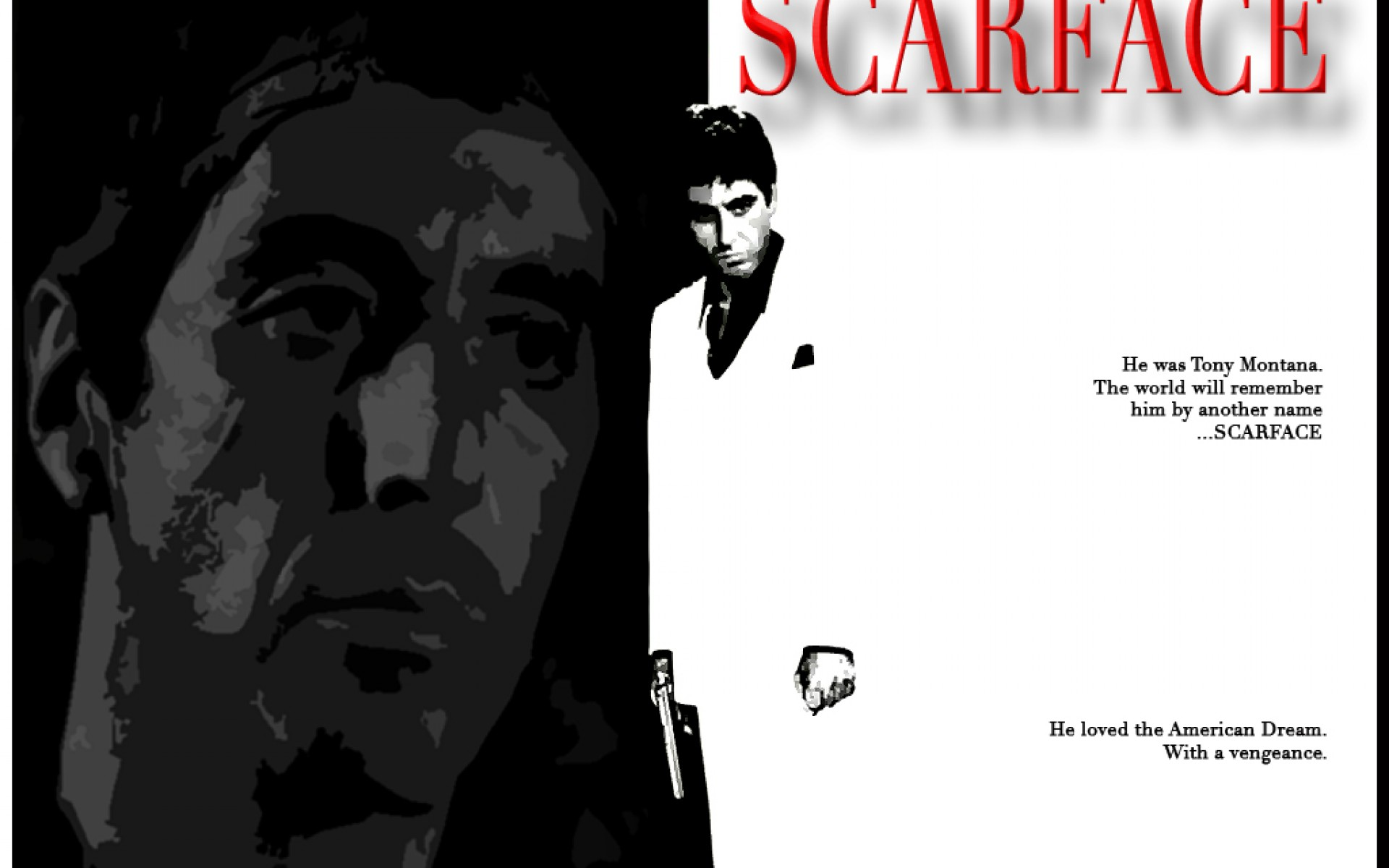 Pics Photos   Scarface Wallpaper 4 Hd Desktop Wallpapers 1920x1200