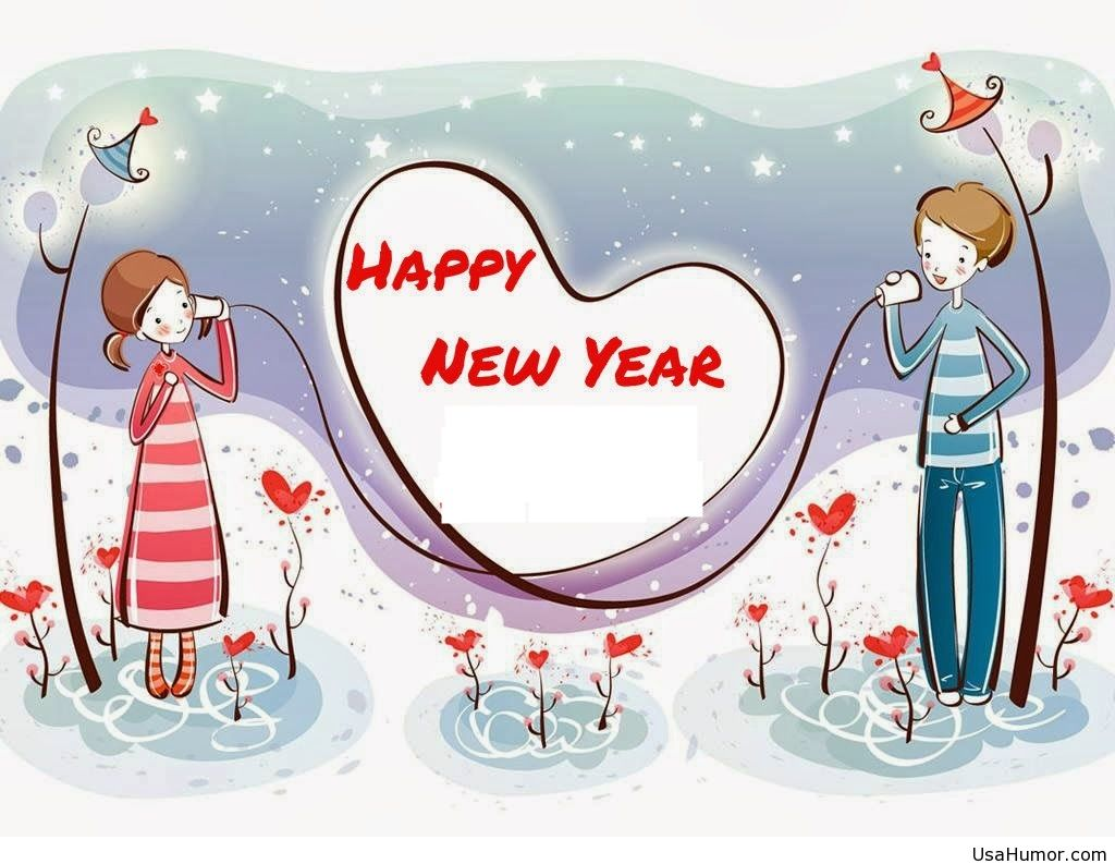 Free download Happy new year love wallpaper hd 2015 [1024x793] for