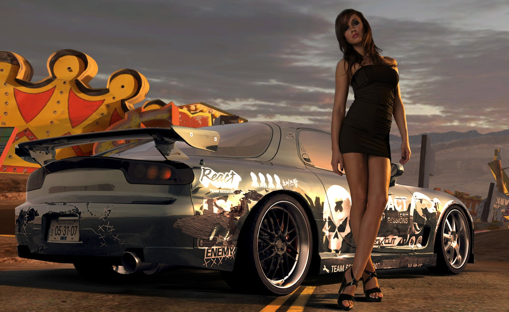 NFS Pro Street Desktop Wallpapers FREE on Latorocom 1671x1023