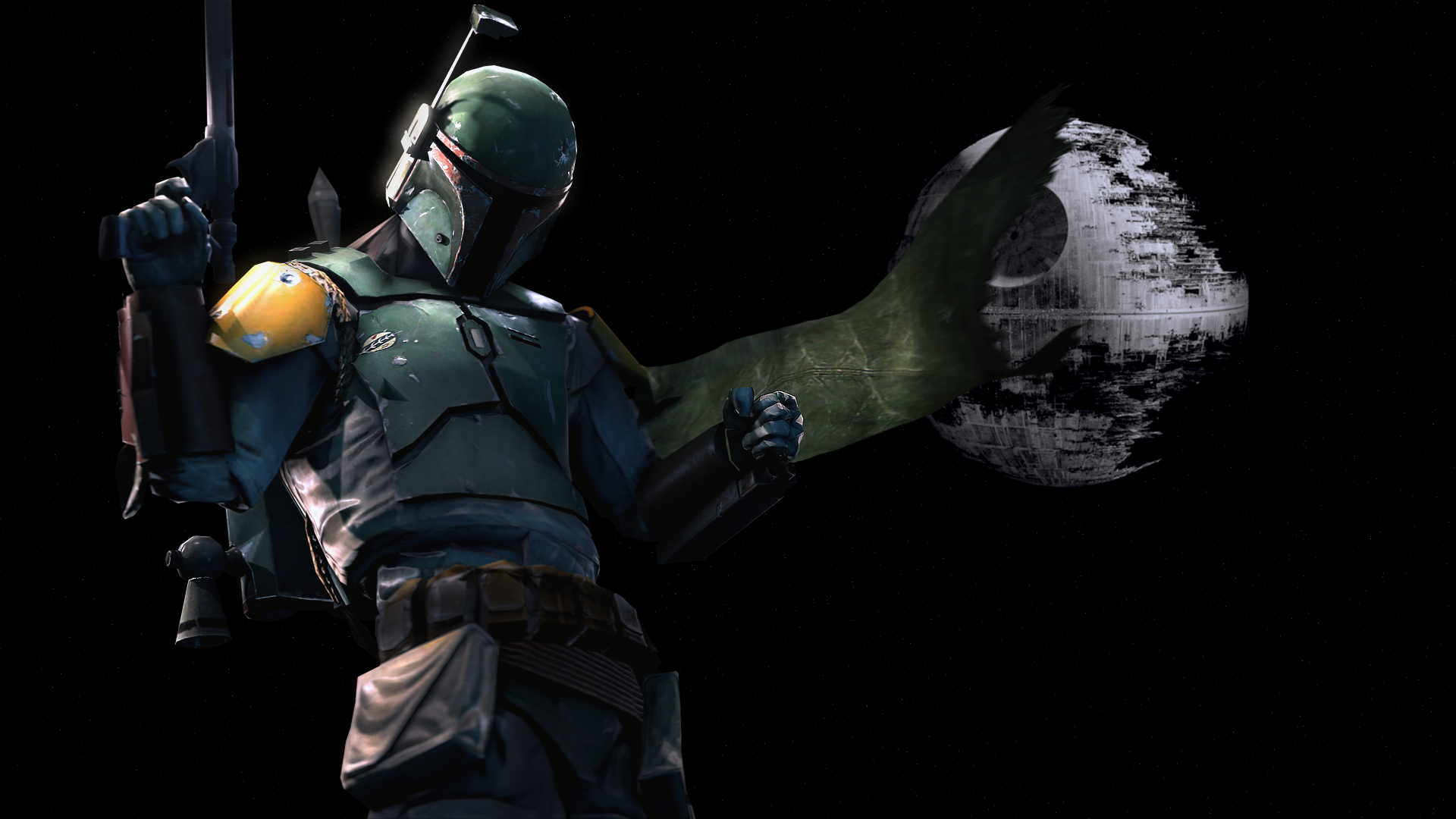 Boba Fett Wallpaper by The Combine on Deviantart fc08deviantart 1920x1080