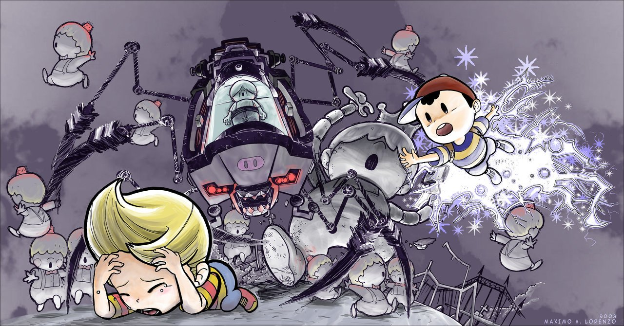 Earthbound Lucas Ness by MaximoVLorenzo 1280x670