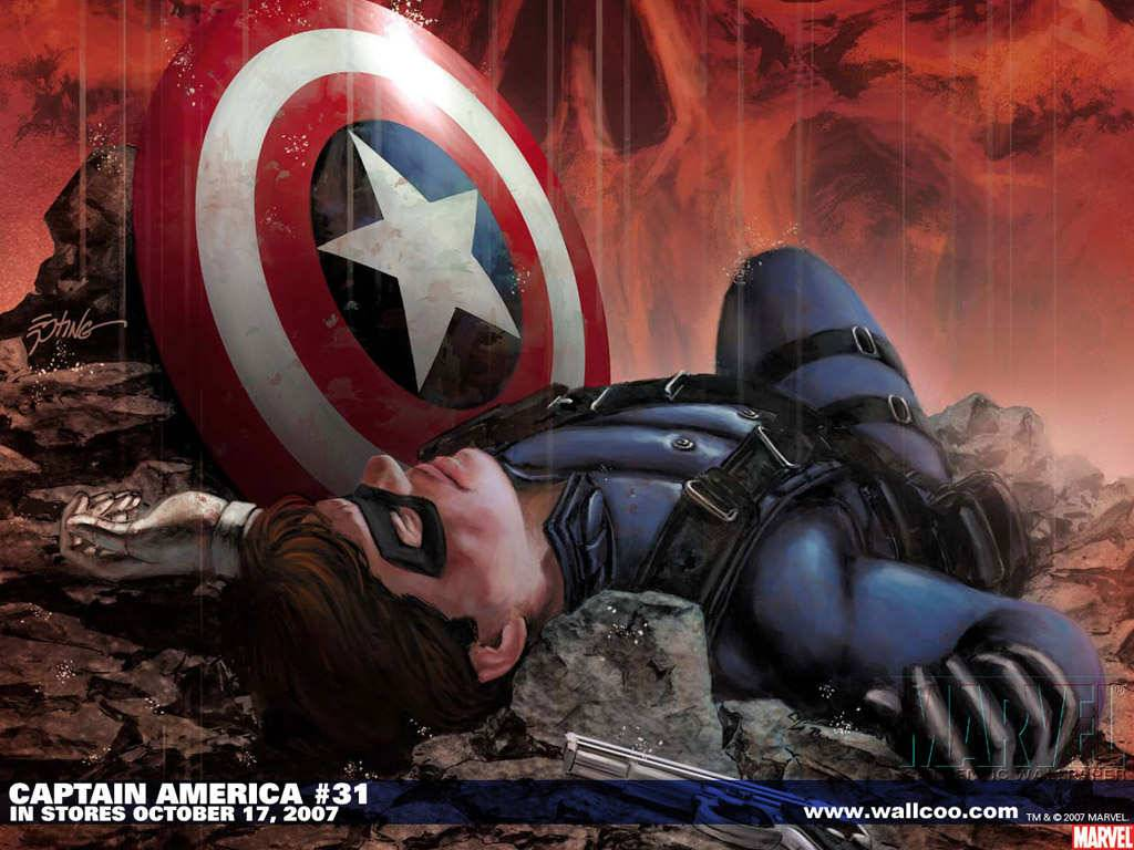 Captain America Comic 31   Marvel Wallpaper 1024x768