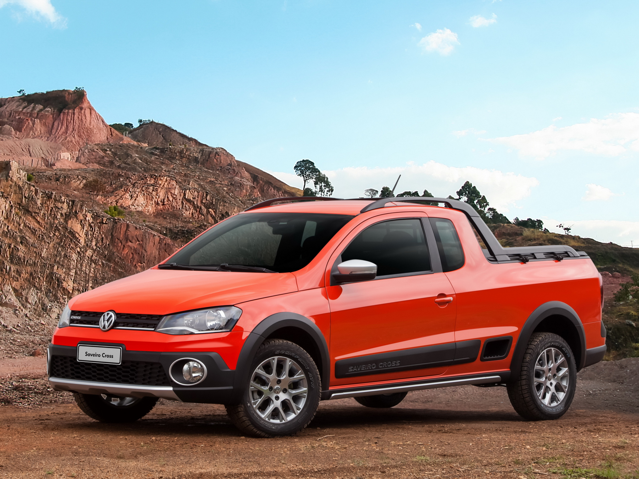 2014 Volkswagen Saveiro Cross Is a Funky Brazilian Pickup [Video 2048x1536