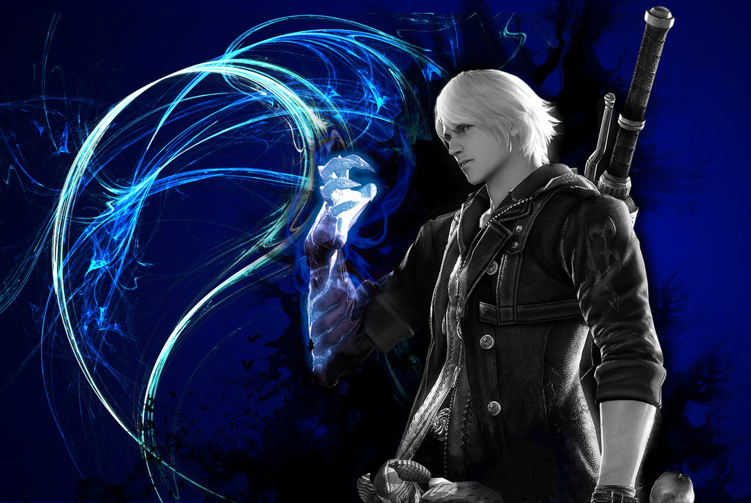 Free Download Devil May Cry 4 Nero Wallpaper By Shedg