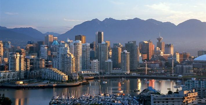 Vancouver Skyline Attraction City Of British Columbia Canada 710x364