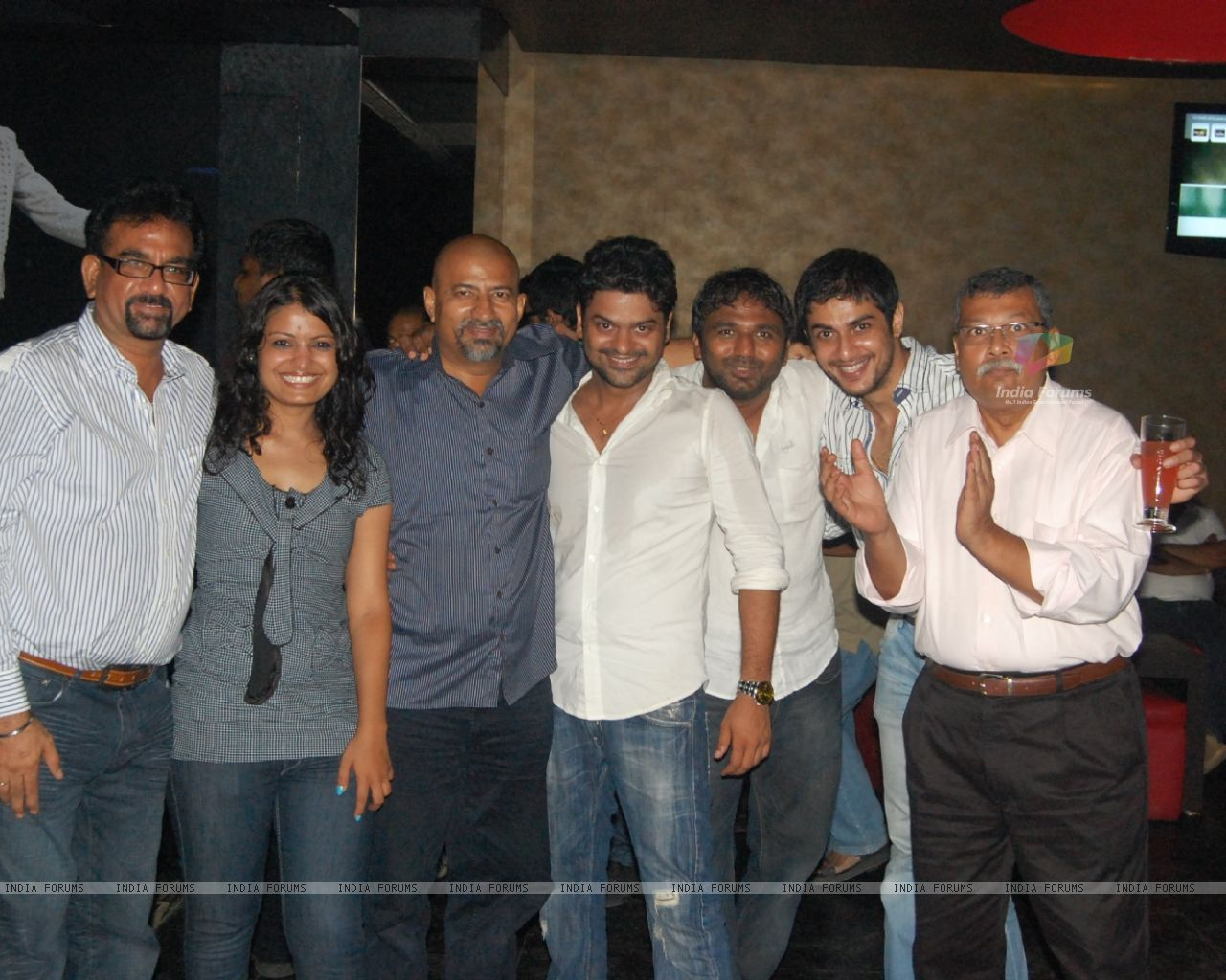 Aahat Crew In Fireworks Productions Party 1280x1024