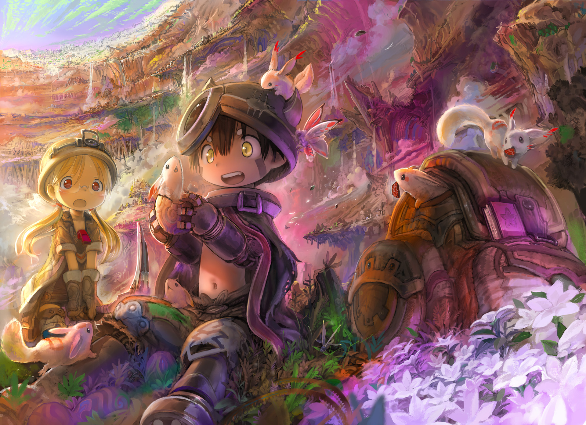 Made in Abyss Anime startet im Juli MAnimede 1920x1393