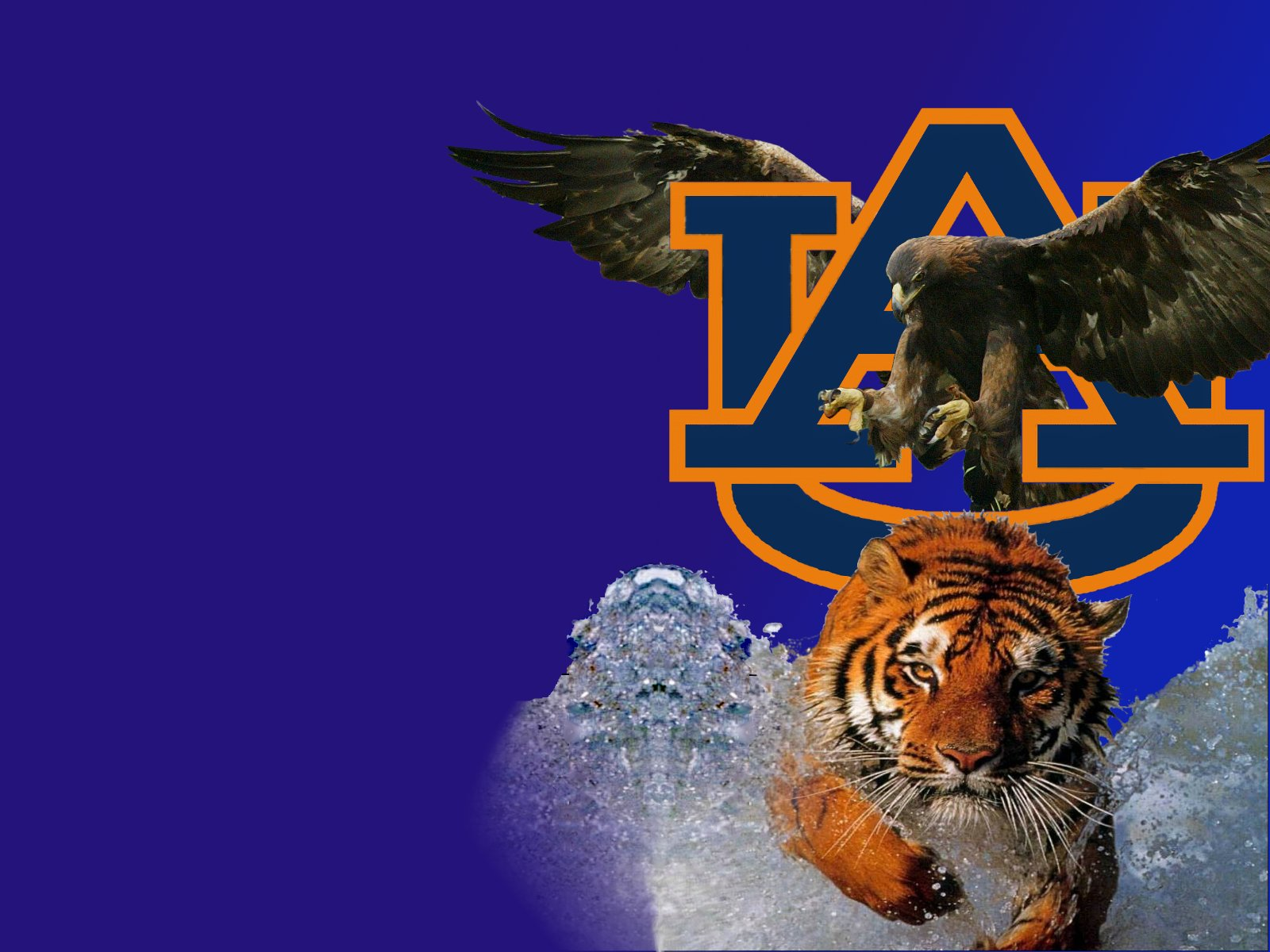 free auburn tigers desktop wallpaper wallpapersafari