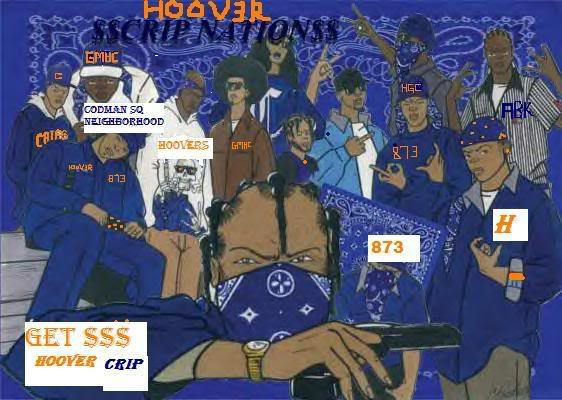 hoover crip knowledge What does the crip six-point star mean a: what are the crip books of knowledge also called the 52 hoover gangster crips or young hoggs.