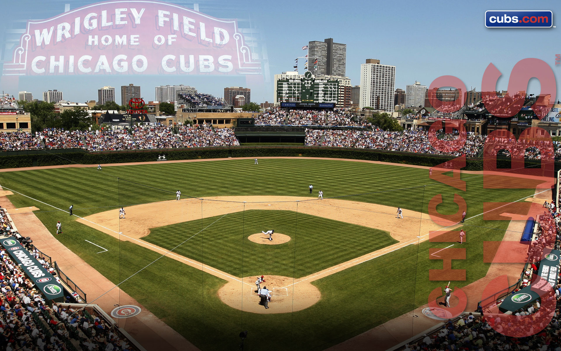 Chicago Cubs Desktop Wallpaper 1920x1200