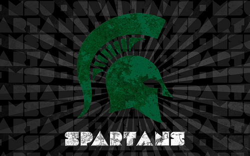 Michigan State Spartans Wallpaper Flickr   Photo Sharing 500x313