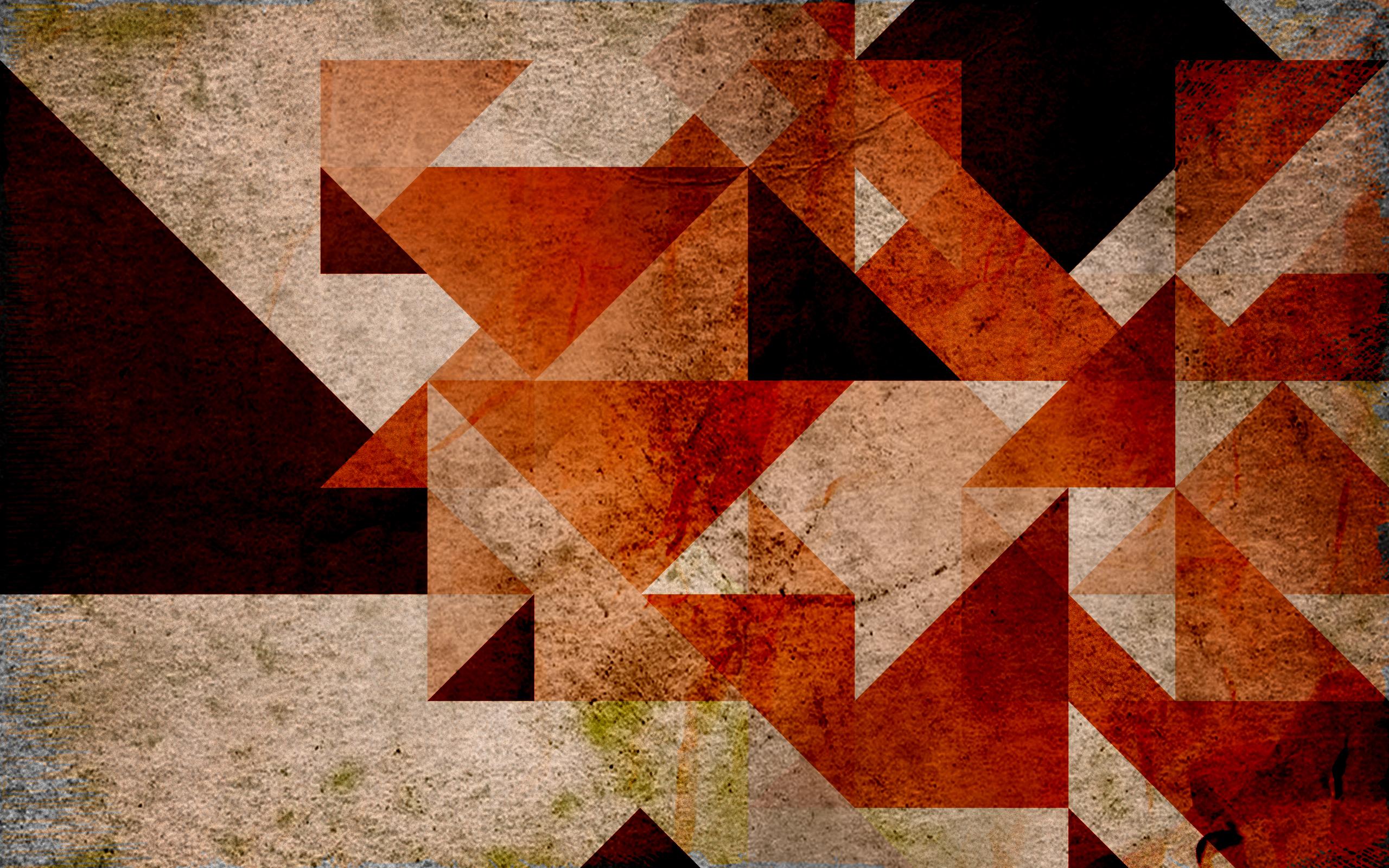 Retro Geometric Wallpaper Wallpapersafari