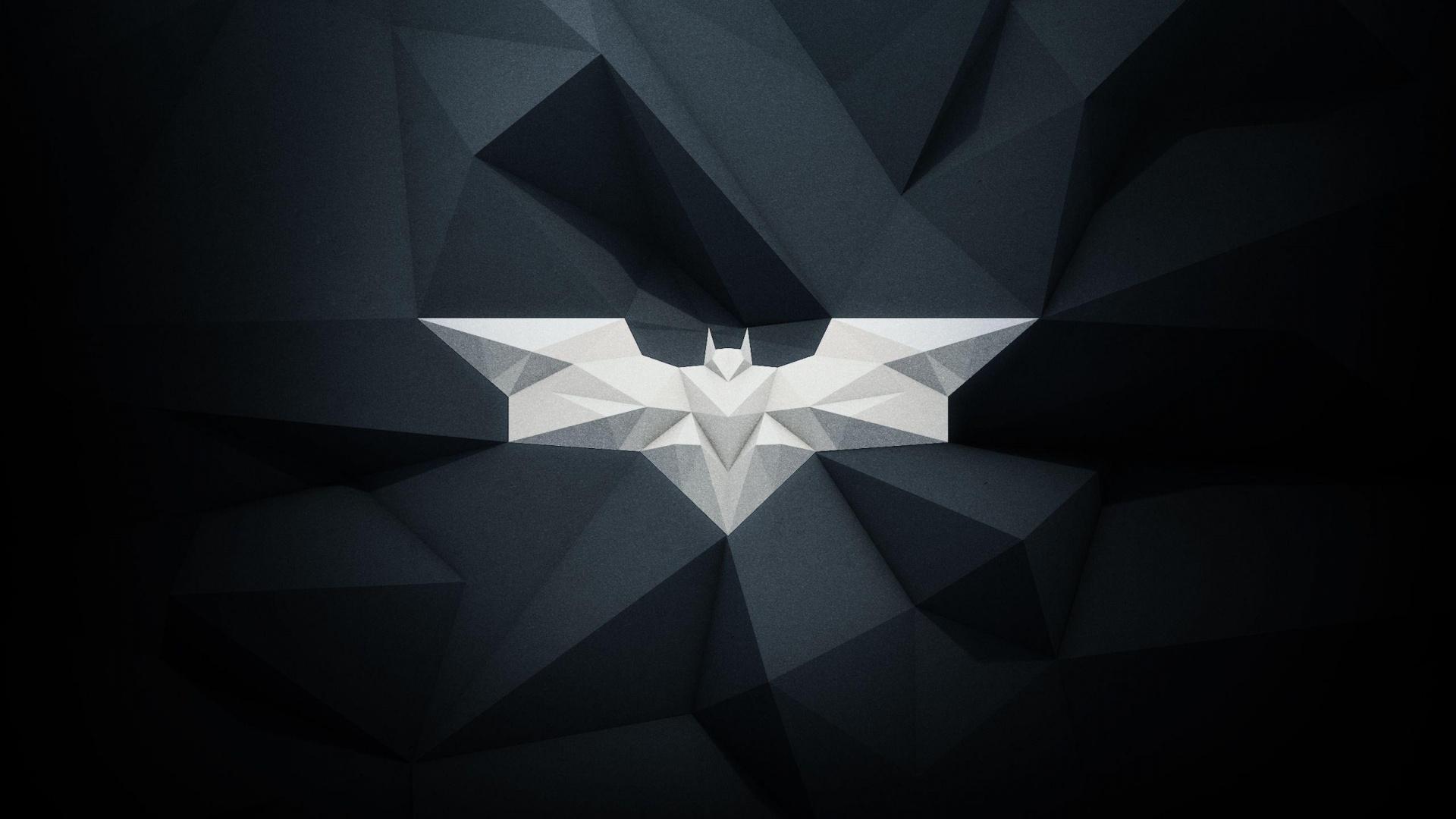 1920x1080 Modern Batman Logo desktop PC and Mac wallpaper 1920x1080