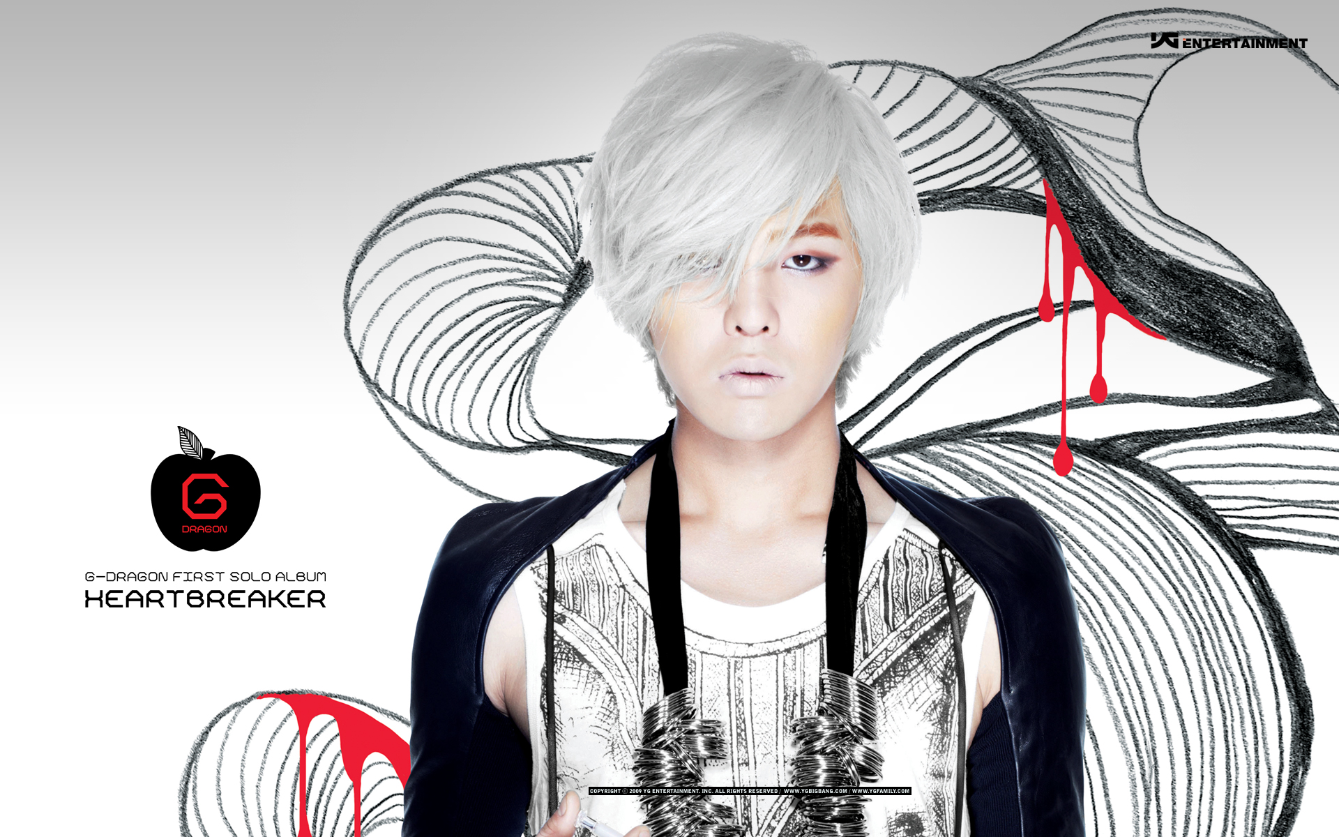 Dragon HEARTBREAKER Wallpapers oficiales de YG YG Family 1920x1200
