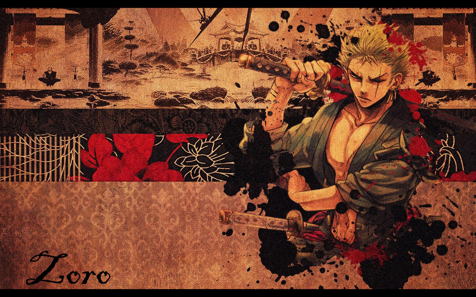 Free Download One Piece New World Zoro Widescreen Background