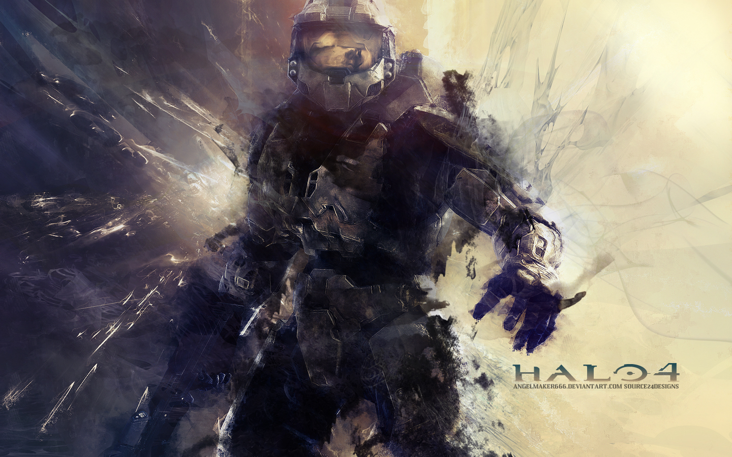halo 4 wallpaper by ishaanmishra customization wallpaper hdtv 1440x900