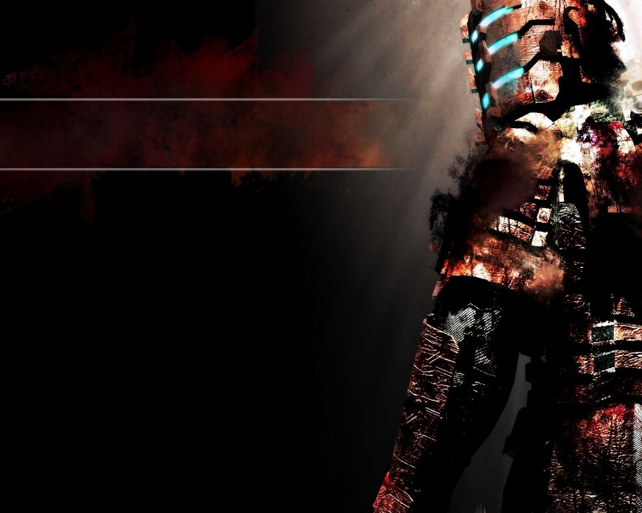 Free Download Blood Gore Dead Space Badass Game Hd Wallpaper