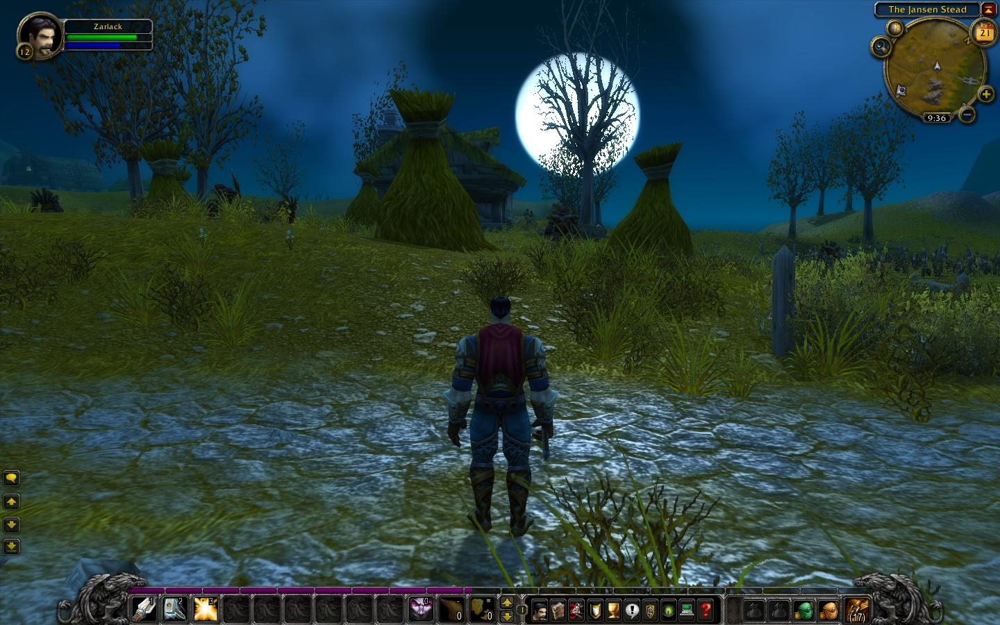 Me in westfall at night by barrolnator 1440x900