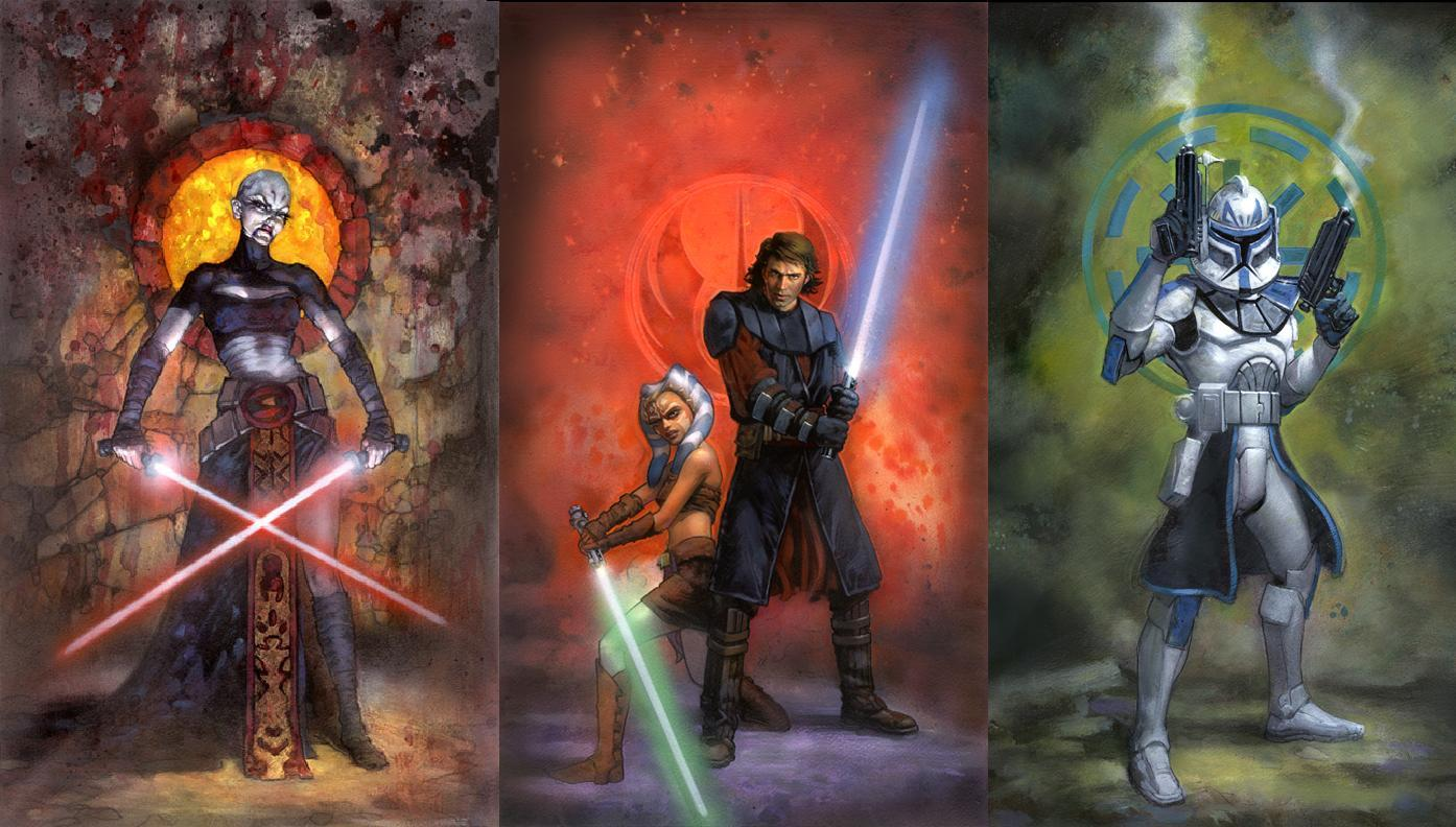 Free Download Star Wars Clone Wars Wallpapers 1394x792 For
