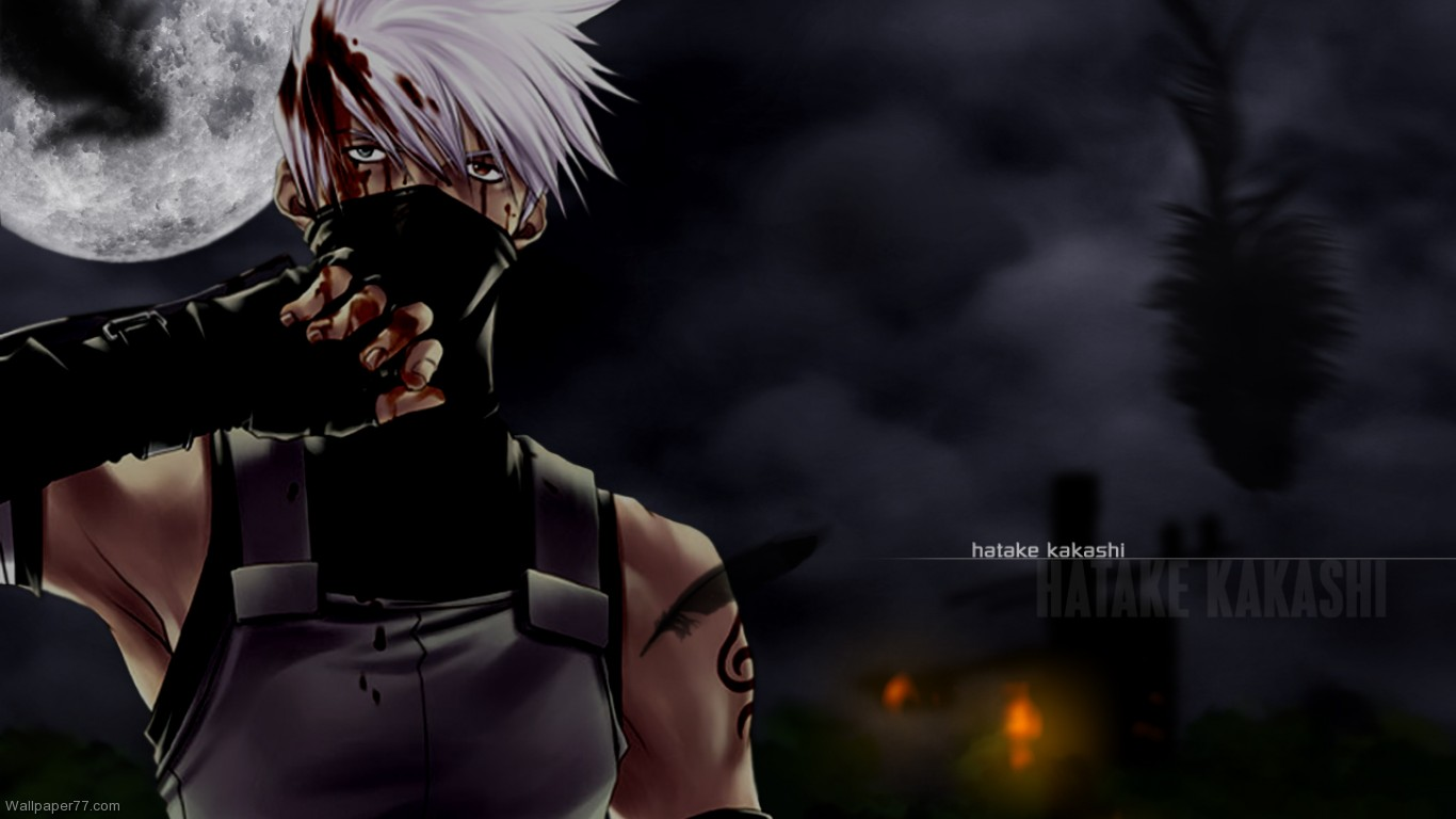 Hatake Kakashi anime wallpaper naruto wallpaper manga wallpapers 1366x768