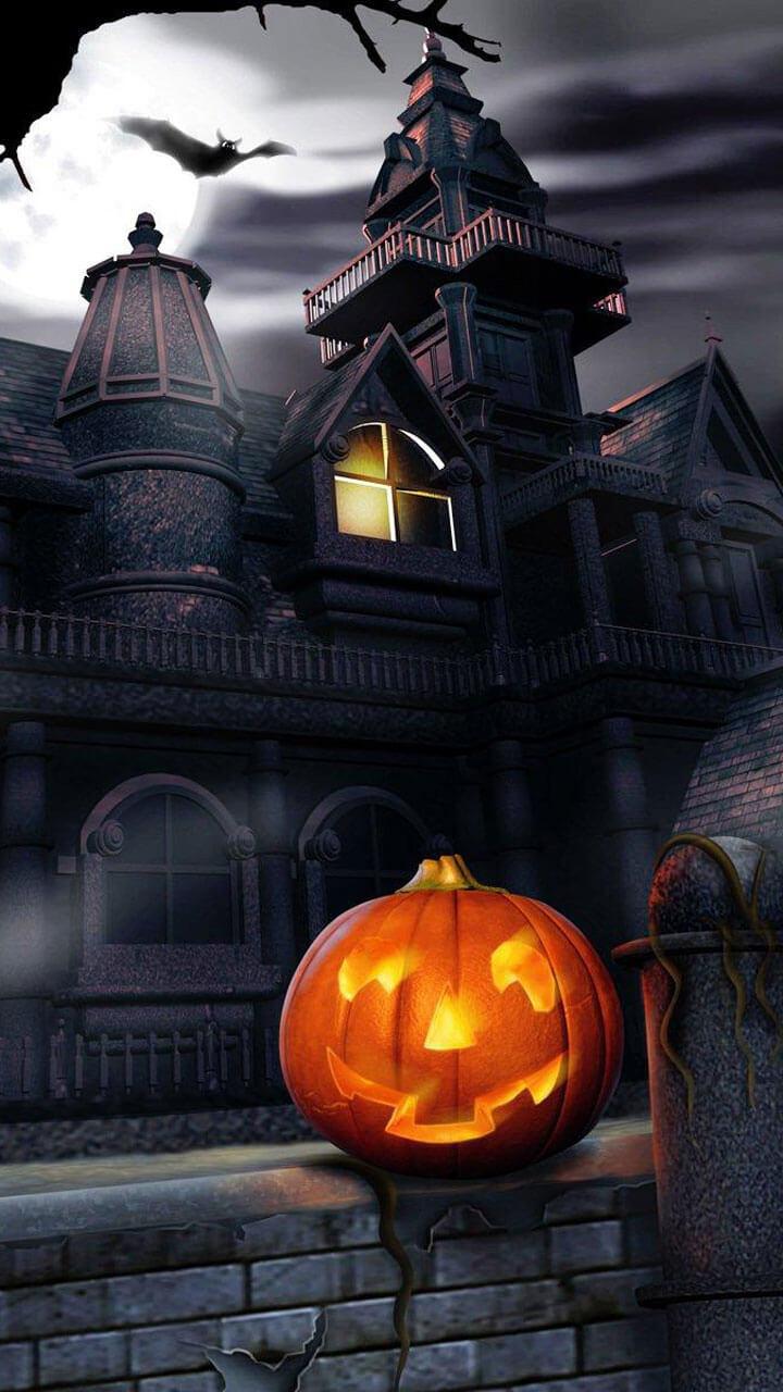 Happy APPS Halloween Live Wallpaper 720x1280
