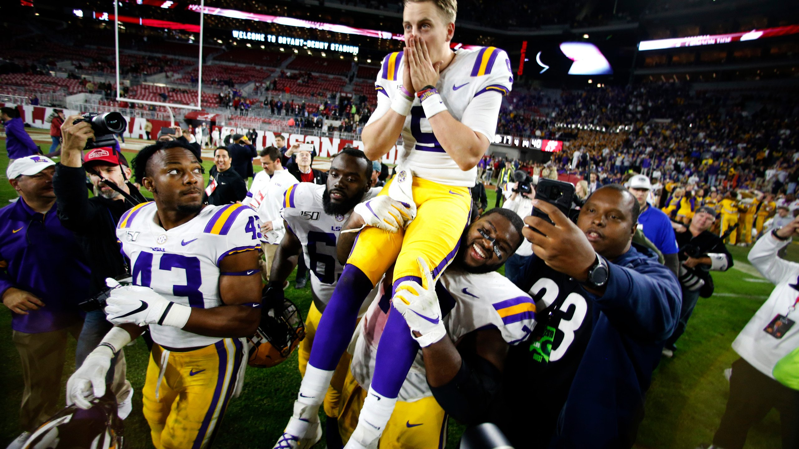 LSUs Joe Burrow to grace the cover of Sports Illustrated KTVE 2560x1440
