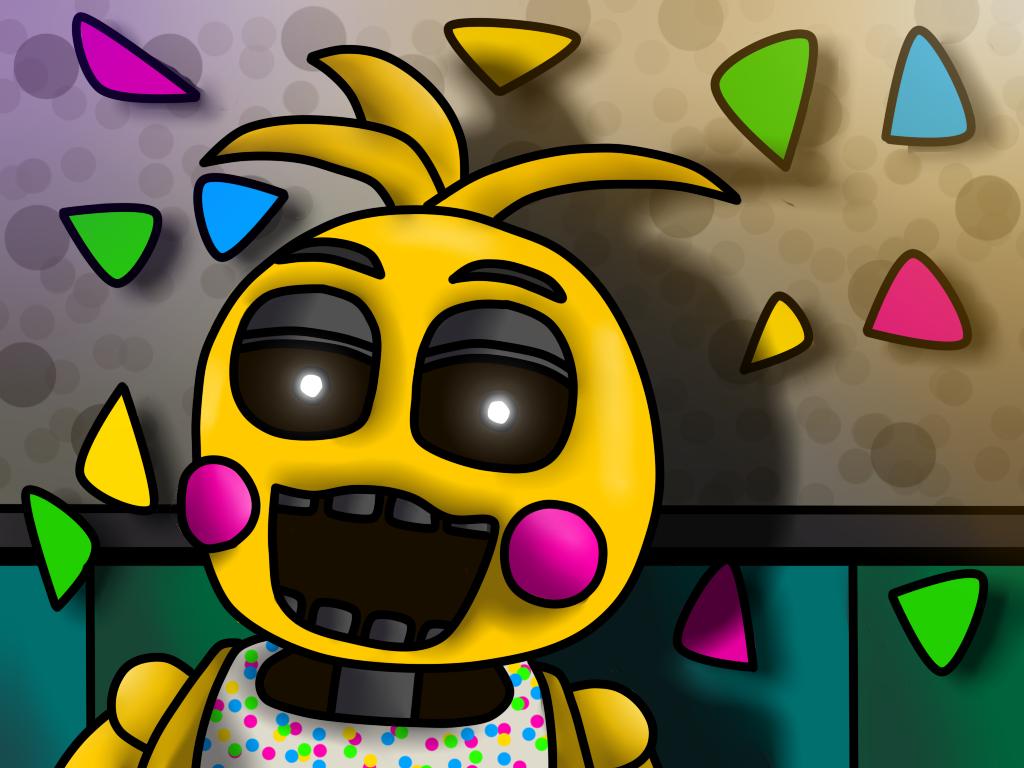 Toy Chica Wallpaper by Monokuma450 1024x768