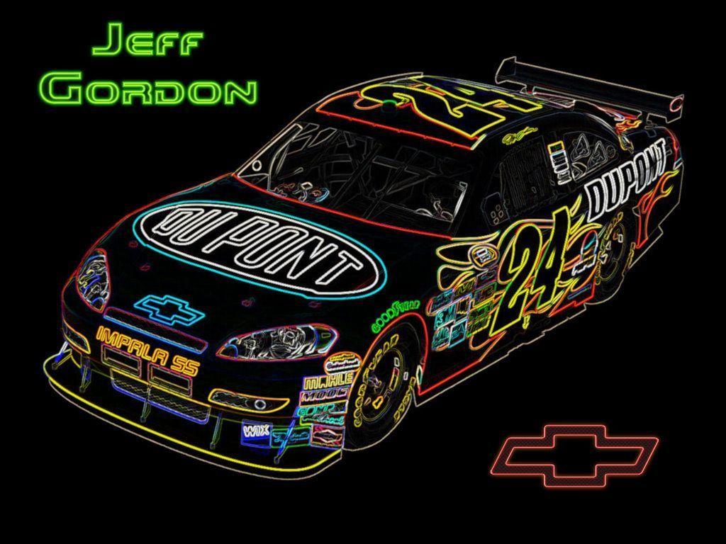 Jeff Gordon Desktop Wallpapers 1024x768