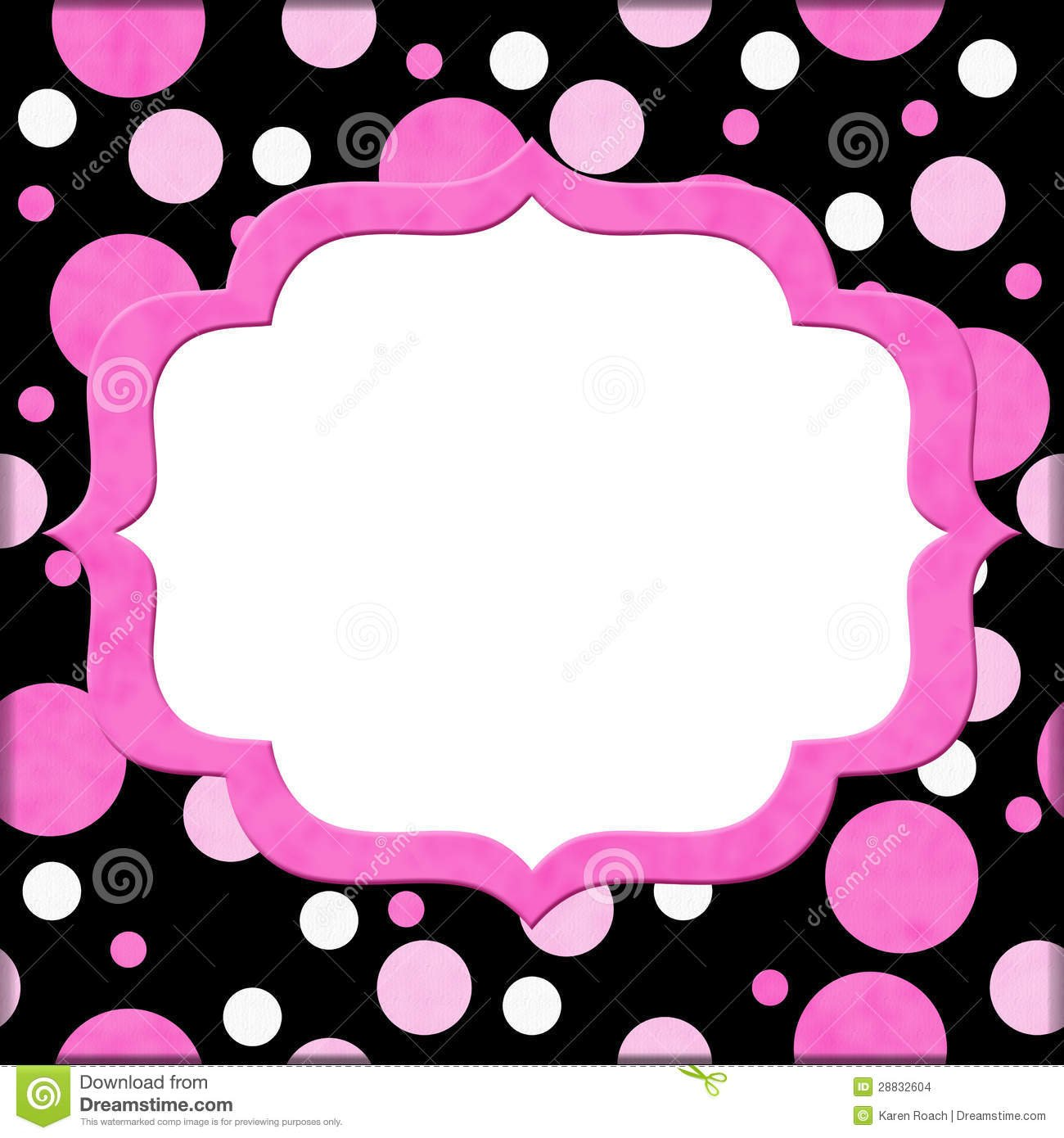 Pink Polka Dot Wallpaper: Black Polka Dot Wallpaper