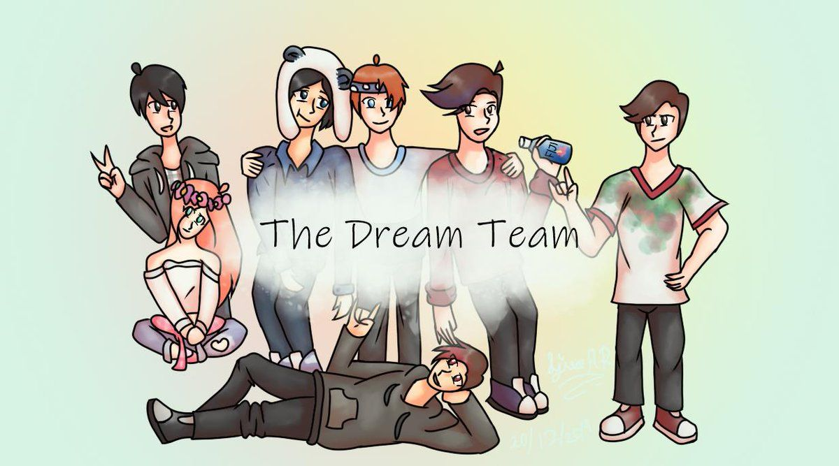 Dream Team Minecraft Wallpapers 1200x667