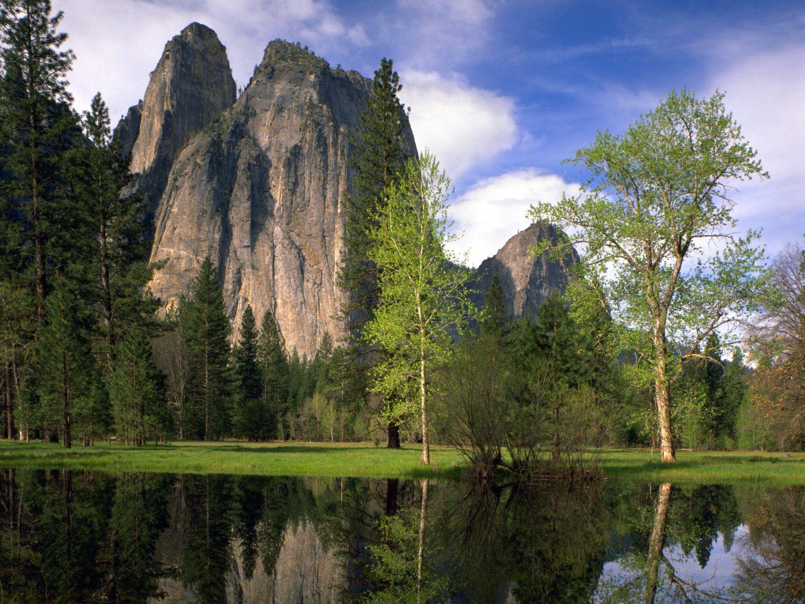 Wallpapers Unlimited Yosemite National Park California USA 1600x1200