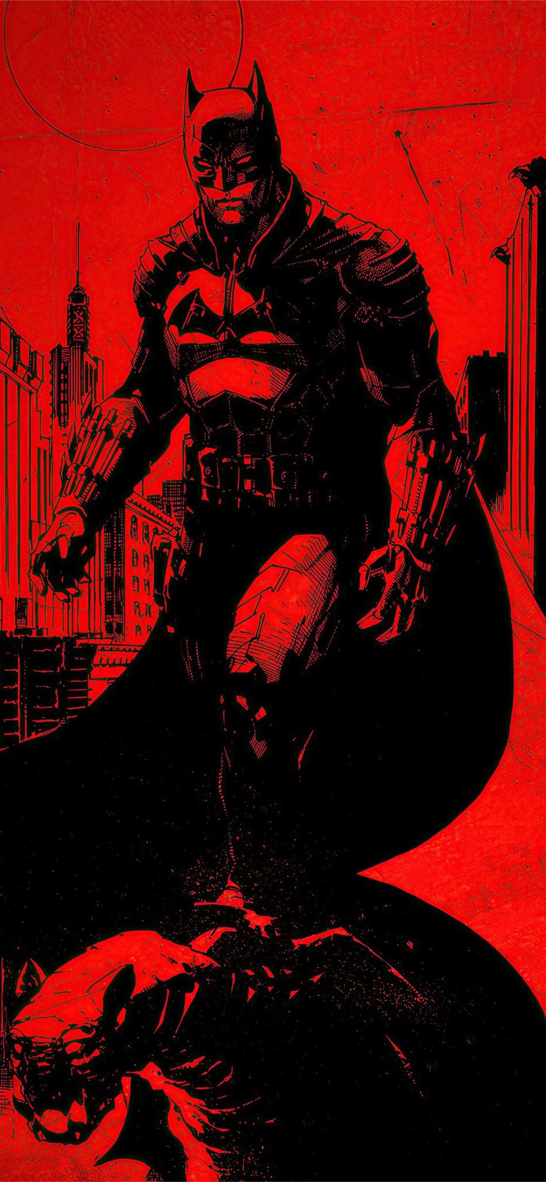 the batman 2021 4k iPhone 11 Wallpapers Download 1125x2436