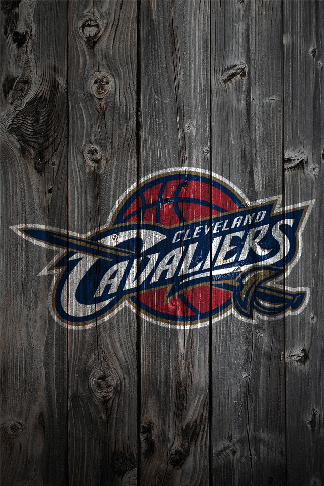 Cleveland Cavaliers Wood iPhone 4 Background   a photo on Flickriver 640x960