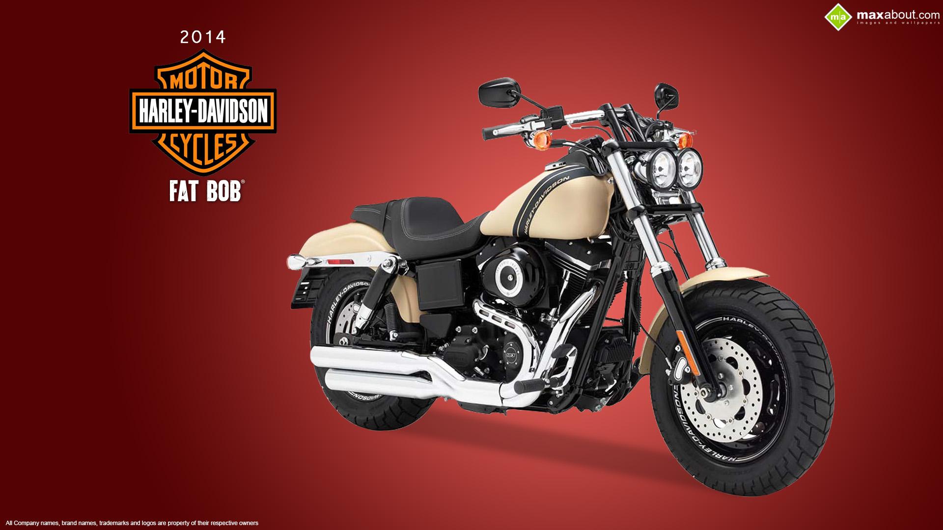 2014 Harley Davidson Fat Bob 1920x1080