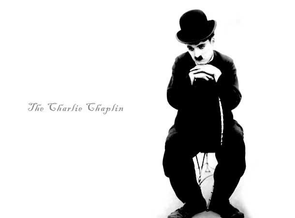 Charlie chaplin wallpaper 610x450