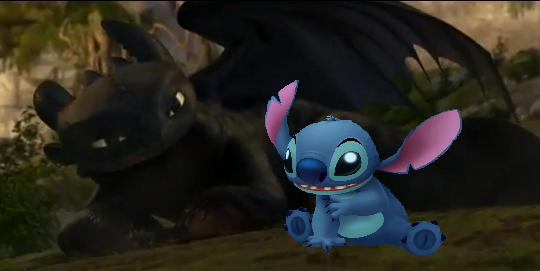 Toothless And Stitch Stitch and toothless by 540x271