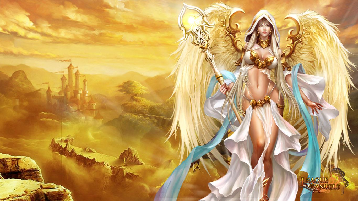 League Of Angels Wallpaper League of angels wallpaper 1366x768