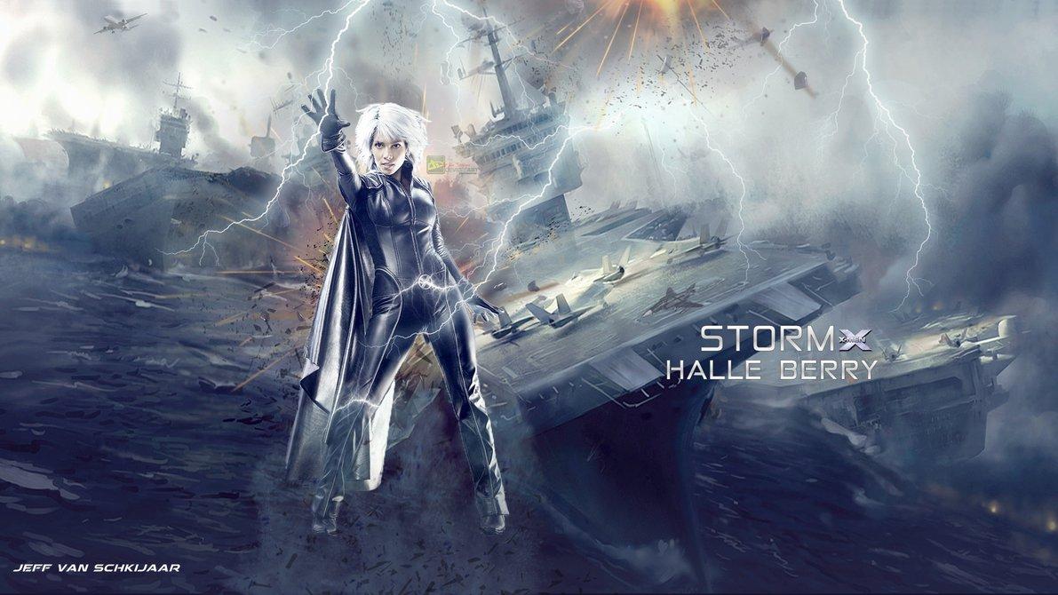 Halle Berry Storm X Men Wallpaper by jeffery10 1191x670