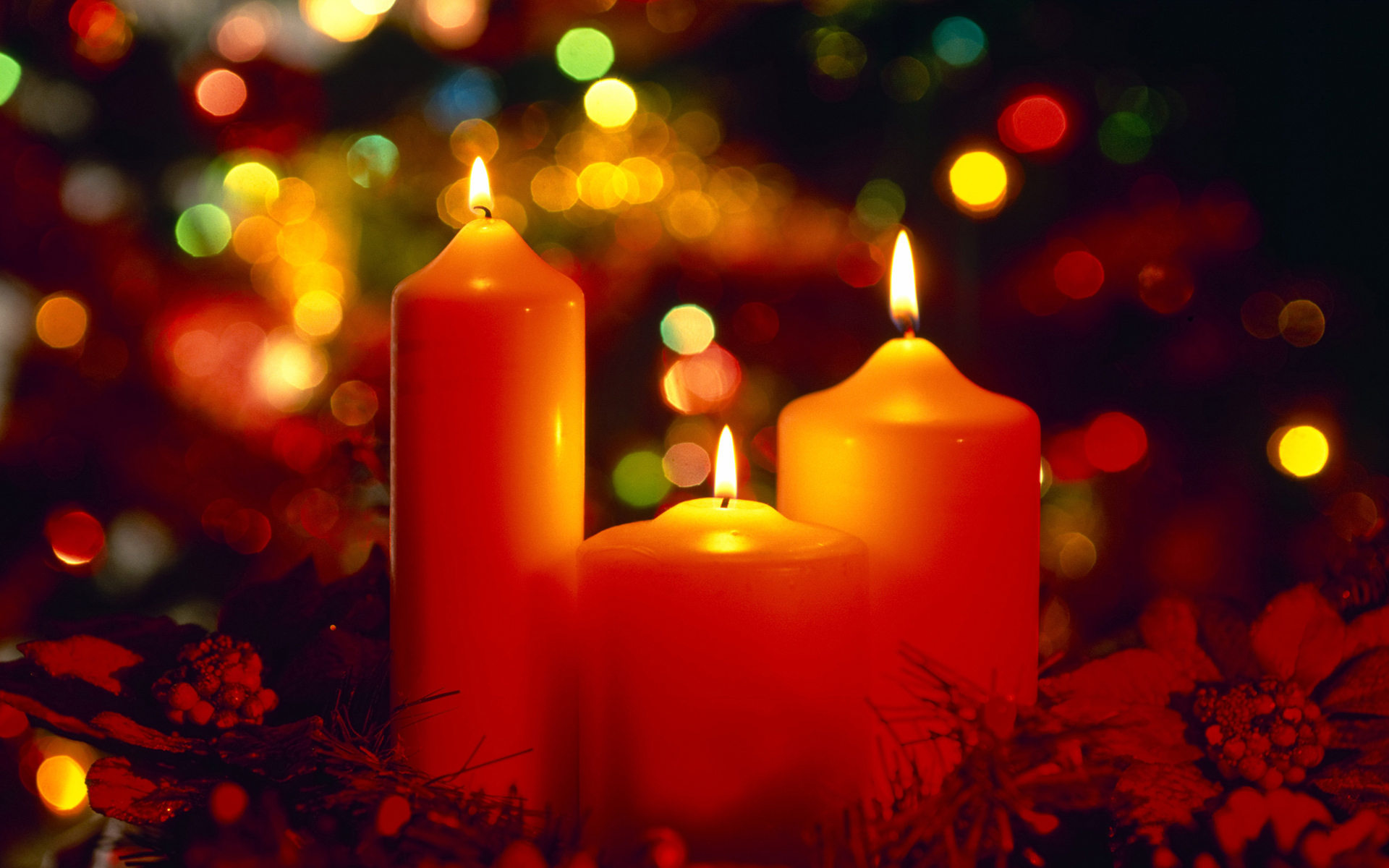 christmas candles wallpaper which is under the christmas wallpapers 1920x1200