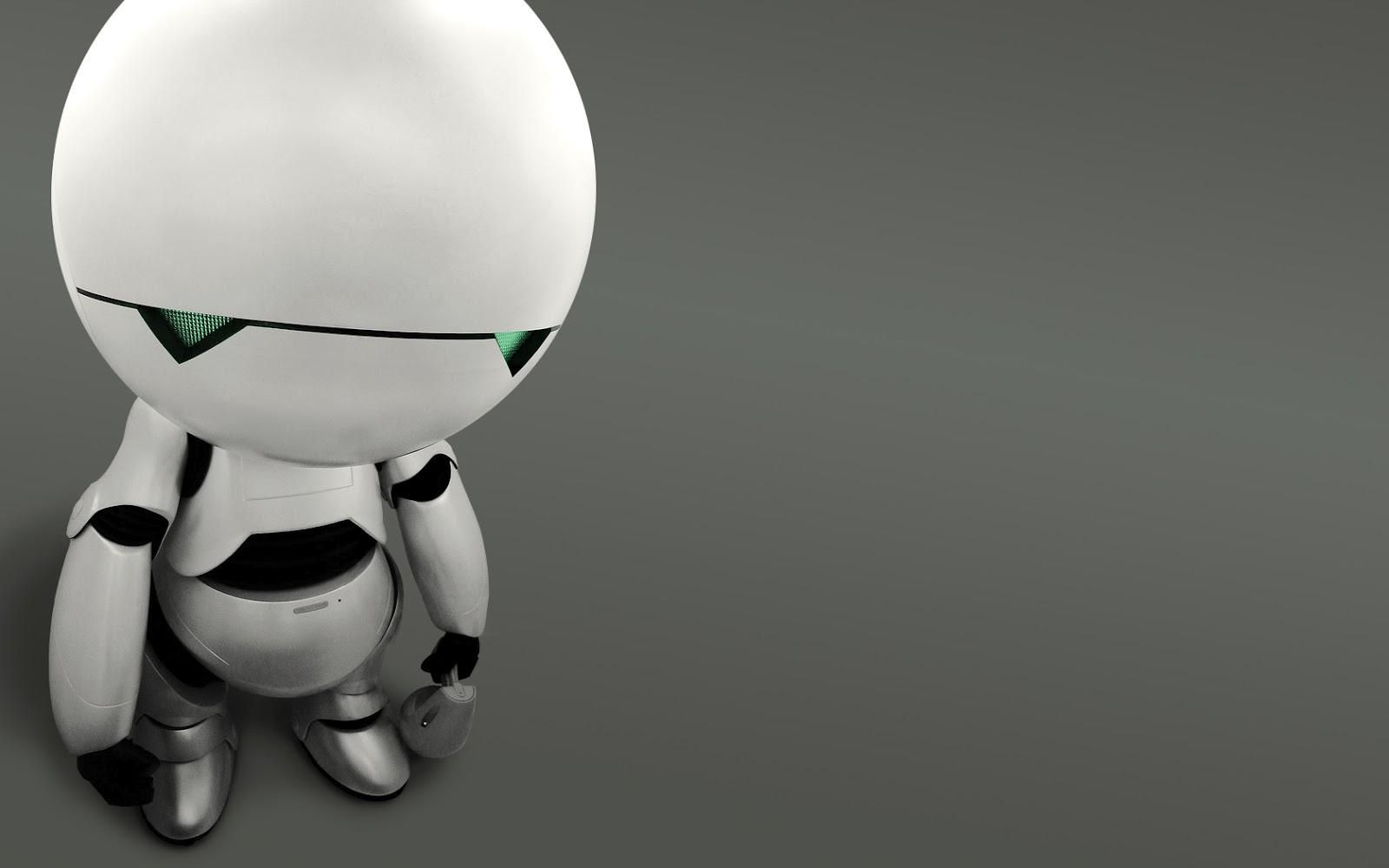 Cute Robot Wallpaper Top HD Wallpapers 1600x1000