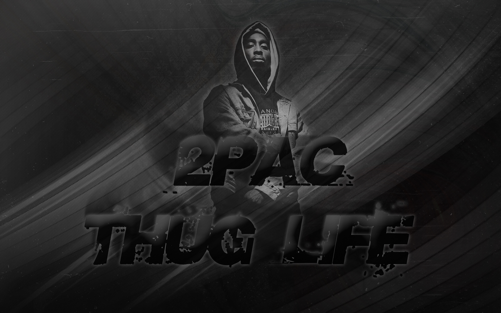 2pac   Thug Life by curtisblade 1680x1050