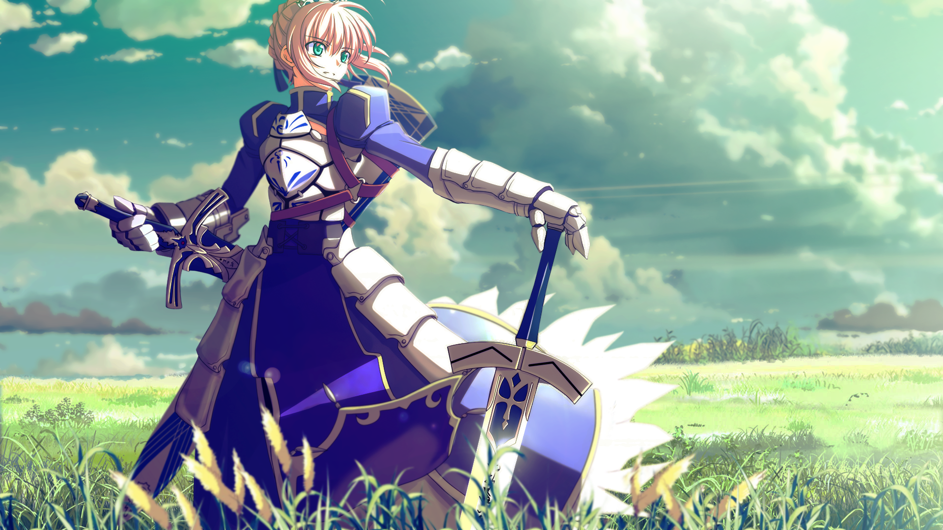 Free Download Saber Fate Stay Night Desktop Wallpaper Download