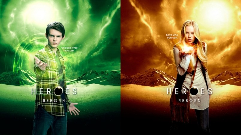 Heroes Reborn Tommy Clarke and Malina HD Wallpaper   WallpaperFX 804x452