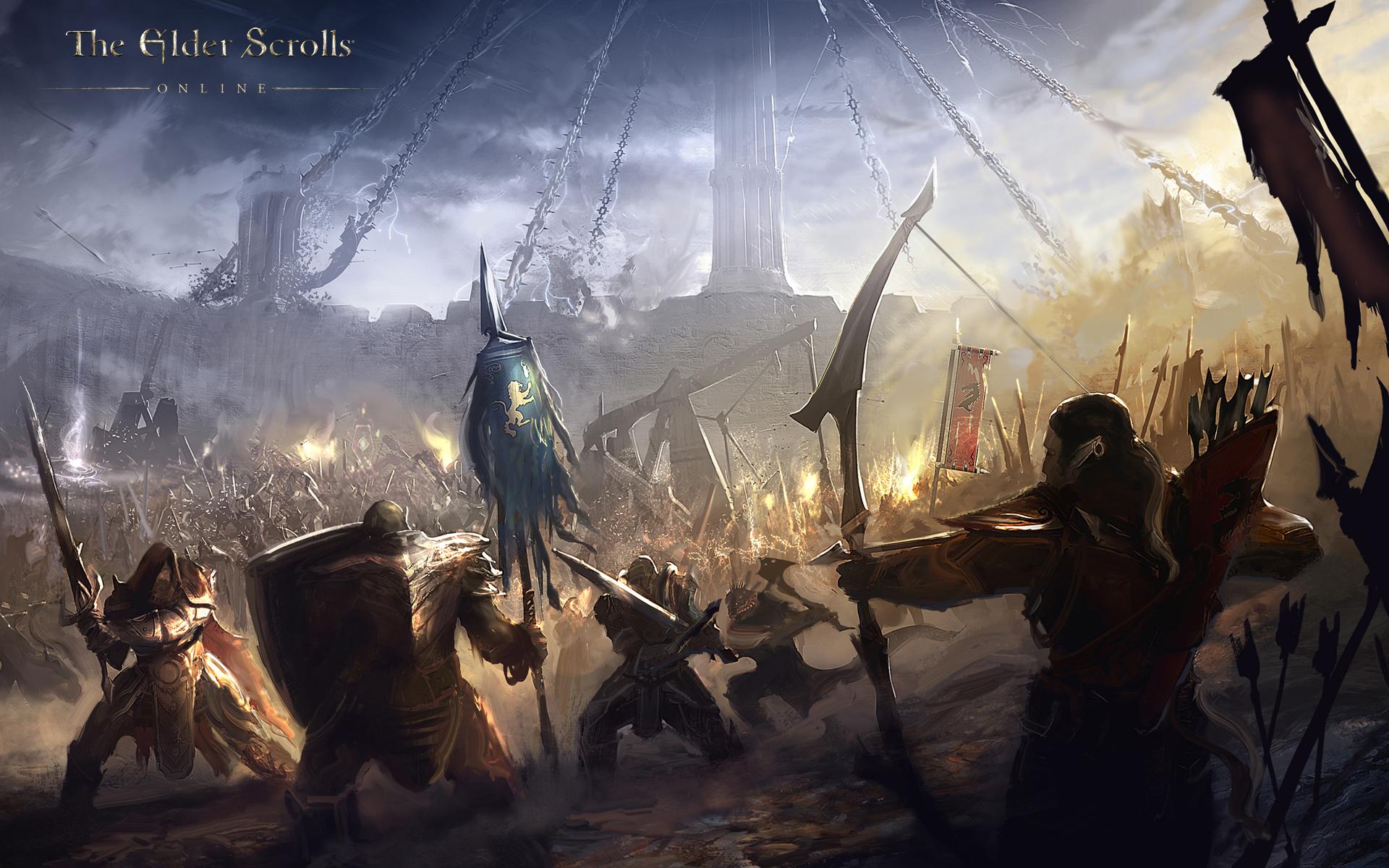 Free Download The Elder Scrolls Online Wallpaper Concept Art