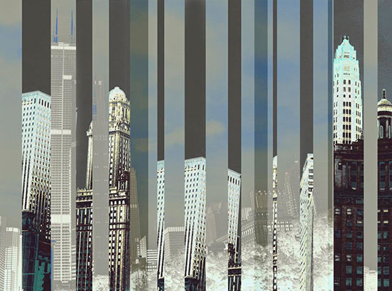 City Wall Murals Skyline Wallpaper 550x409